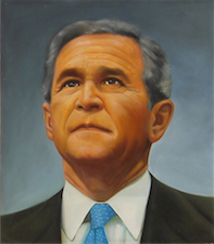 George W Bush , Photo to Oil Painting