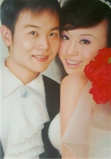 Wedding photo to oil painting