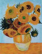 Still Life_Vase with Twelve Sunflowers